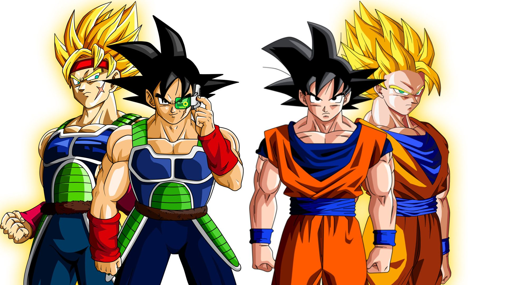 The saiyans images bardock and goku kakarot xzhzmyh hd wallpaper and background photos 39738143 - Sayen legendaire ...