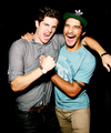 | Daniel Sharman and Tyler Posey | - daniel-sharman fan art