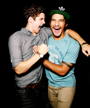 | Daniel Sharman and Tyler Posey |