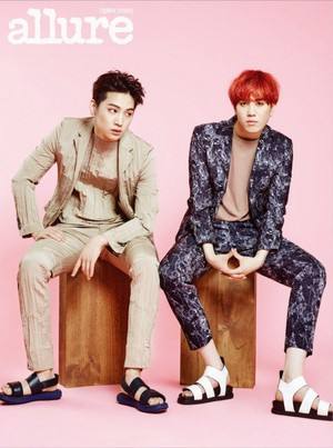 GOT7's JB and Yugyeom are a trendy duo for 'Allure'