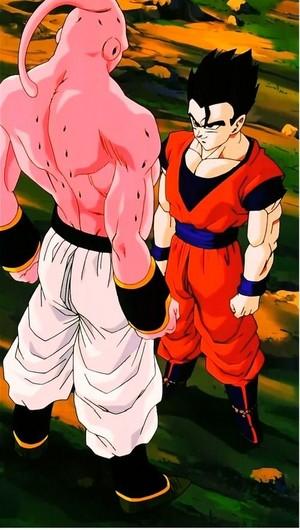 *Mystic Gohan vs Super Buu*