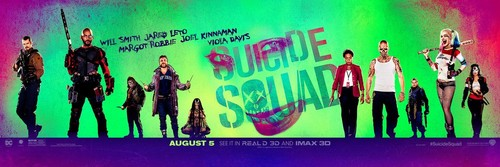 Suicide Squad wallpaper probably with Anime entitled 'Suicide Squad' Promotional Banner