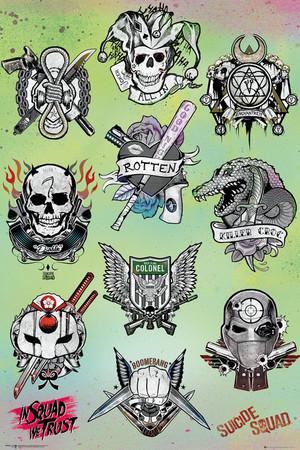 'Suicide Squad' Retail Poster