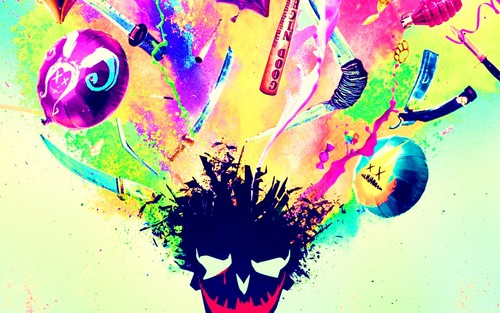 Suicide Squad wallpaper possibly with a bouquet titled 'Suicide Squad'