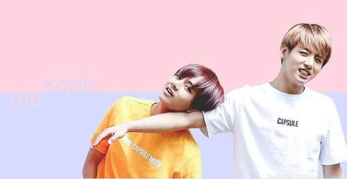 BTS achtergrond with a portrait called ❤Vkook❤