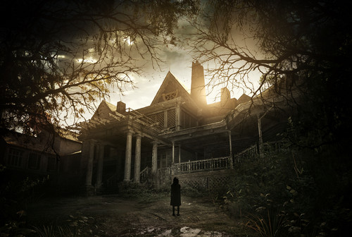 resident evil wallpaper probably containing a conservatory entitled resident evil 7