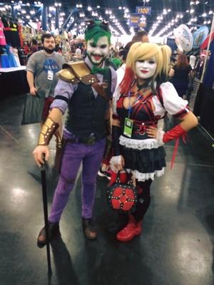 Harley arkham knight cosplay