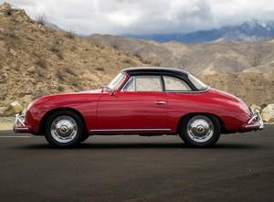1957 Porsche 356A 1600 Hardtop Cabriolet.