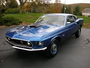 1969 Ford Mustang Cobra Jet Sportsroof,