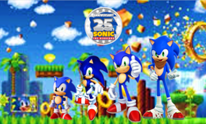 25th Anniversary of Sonic the Hedgehog