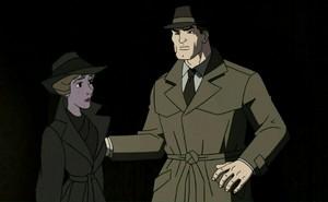 A Woman Meet A Detective