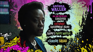 Advance Ticket Promos - Amanda Waller