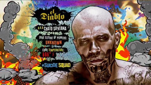 Suicide Squad wallpaper with animê titled Advance Ticket Promos - El Diablo
