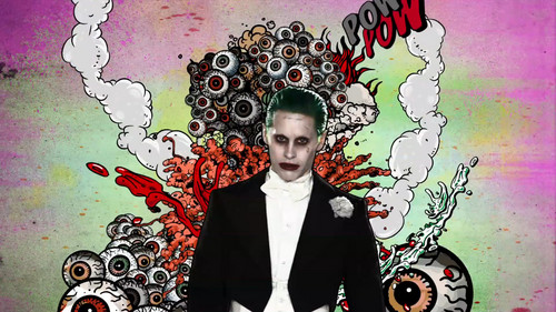 Suicide Squad wallpaper probably with Anime titled Advance Ticket Promos - The Joker