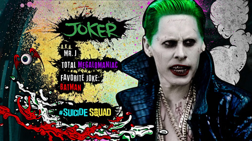 Suicide Squad wallpaper possibly containing anime entitled Advance Ticket Promos - The Joker