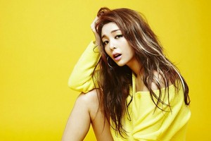 Ailee Yellow Background