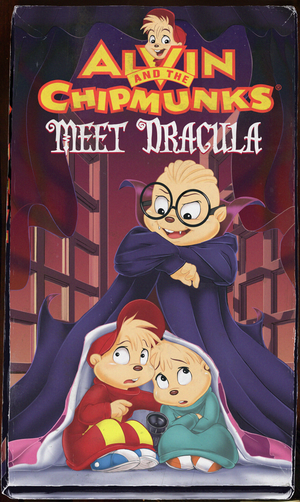 Alvin and the Chipmunks meet Dracula (vhs)
