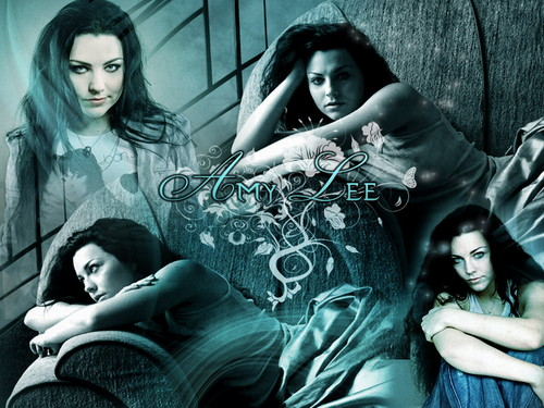 Amy Lee wallpaper possibly with a sign and a portrait titled Amy Lee