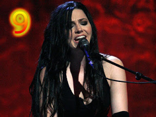 Amy Lee wallpaper containing a concert and a guitarist entitled Amy Lee