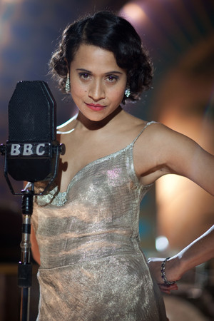 Angel Coulby in 'Dancing on the Edge'