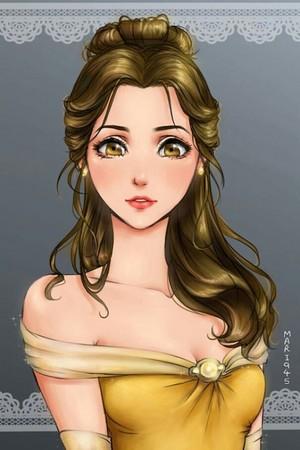 日本动漫 Belle