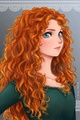 Anime Merida - merida fan art