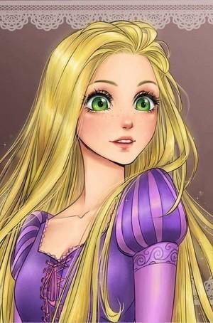 Аниме Rapunzel