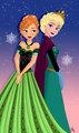 Anna and Elsa - elsa-and-anna fan art