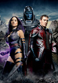 Apocalypse, Psylocke and Magneto - x-men photo