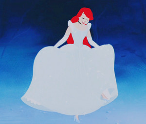 Ariel as Sinderella 2