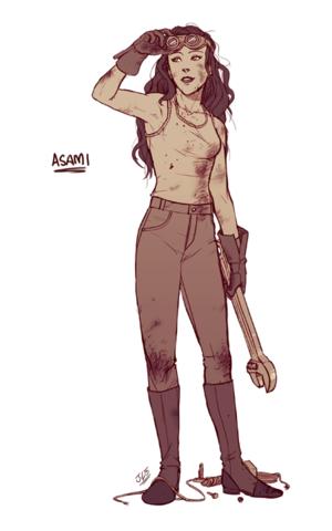 Asami Aato // The Legend of Korra