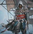 Assassin - assassins-creed fan art