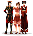 Azula, Mai, and TyLee - avatar-the-last-airbender photo