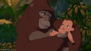 Baby Tarzan whit Kala 30088428 1280 720 1