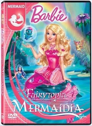 barbie Fairytopia: Mermaidia New DVD Cover (2016)!