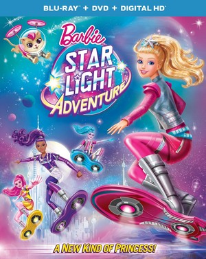 Barbie étoile, star Light Adventure Blu-ray Cover