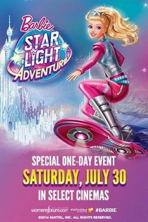 Barbie bintang Light Adventure Cinema Poster