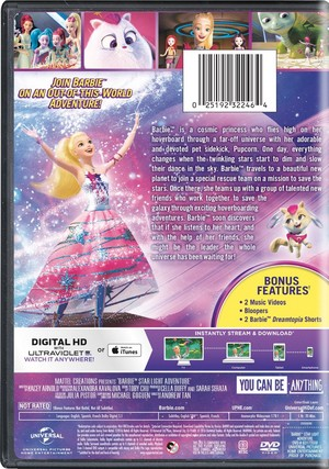Barbie stella, star Light Adventure DVD Cover