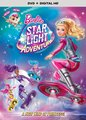 búp bê barbie ngôi sao Light Adventure DVD Cover