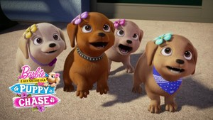 Barbie & Her Sisters in A chiot Chase