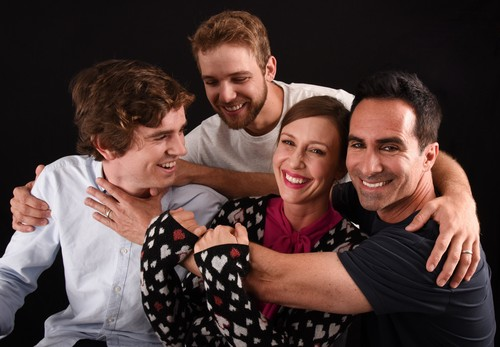 Bates Motel Hintergrund called Bates Motel Cast at Comic Con 2016