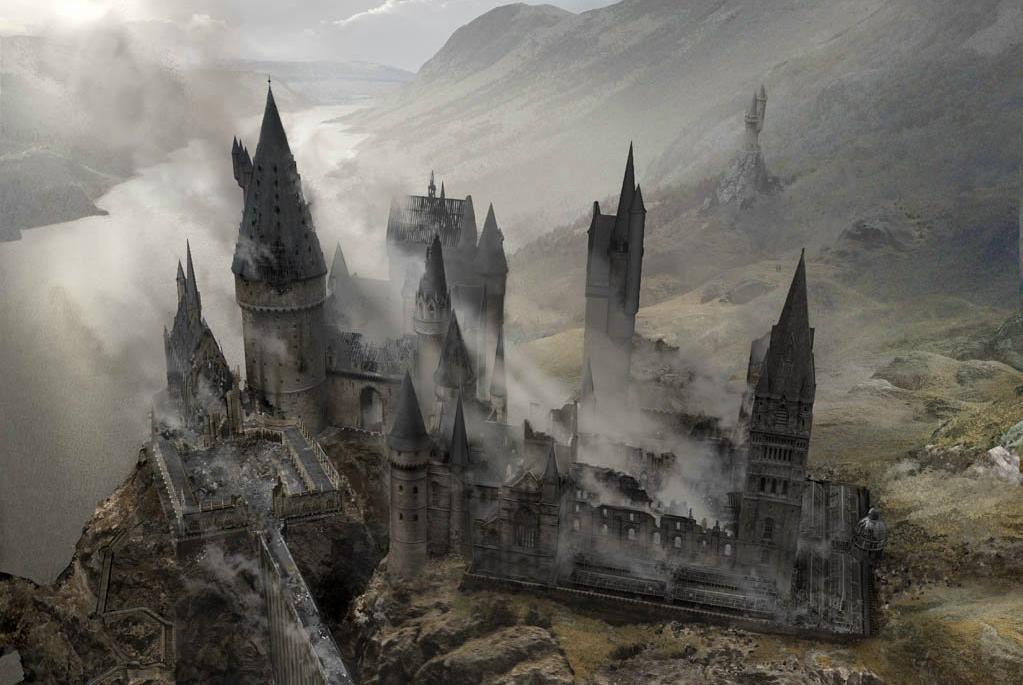 Battle of Hogwarts Concept Art