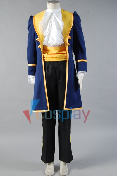 Beauty and the Beast Prince Adam Cosplay Costume
