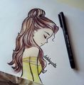 Belle Drawing