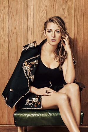 Blake Lively - Harper's Bazaar China Photoshoot - July 2015