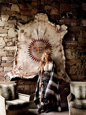 Blake Lively - Vogue Photoshoot - August 2014