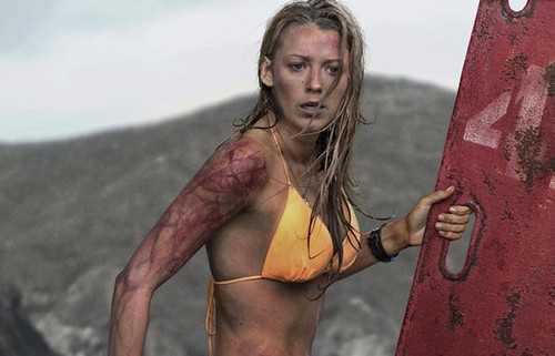 The Shallows वॉलपेपर possibly containing a bikini titled Blake Lively