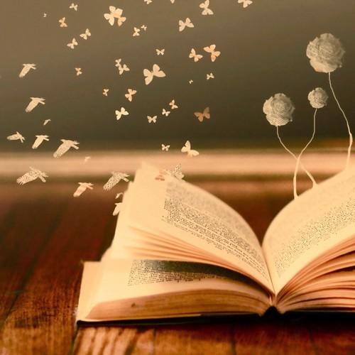 Lesen Hintergrund entitled Bücher