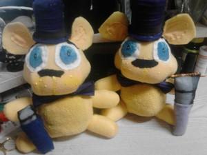 Both Fredbear Plushys 1
