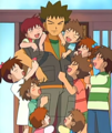 Brock and siblings